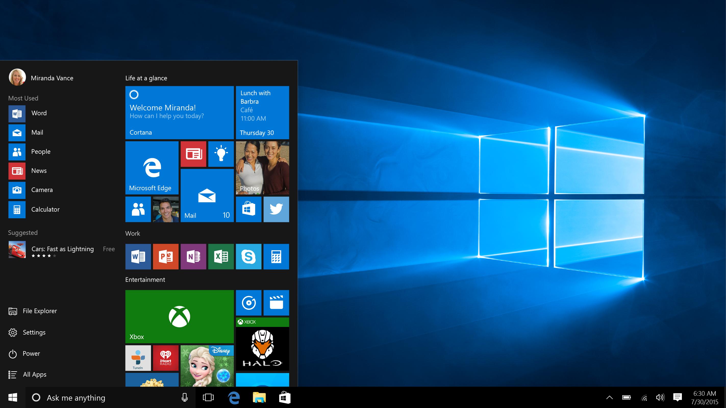 Windows 10'da Başlat Menüsü Hatalarını Çözecek Öneriler