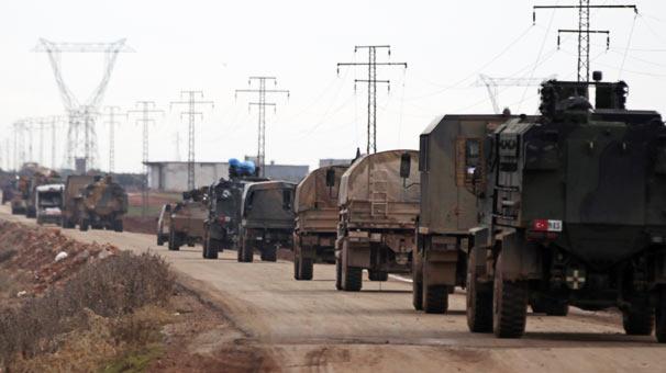 Yeni Türk Askeri Konvoyu Yola Çıktı