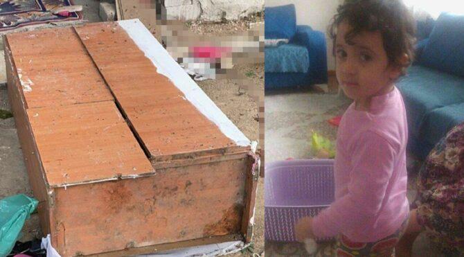 Dolabın altında kalan 3 yaşındaki Kumsal'dan acı haber