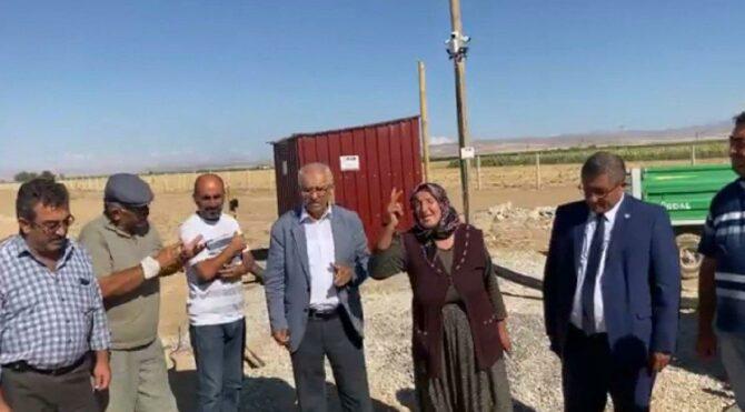 Köylüler AKP'li isme isyan etti: Bir daha oy istemeyin